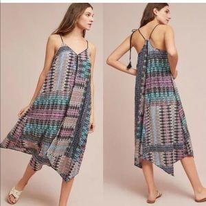 Anthropologie $118 Akemi Kin M tassel boho dress